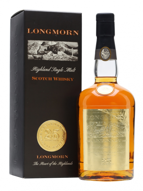 LONGMORN 25 YEAR OLD CENTENARY SPETIALLY EDITION