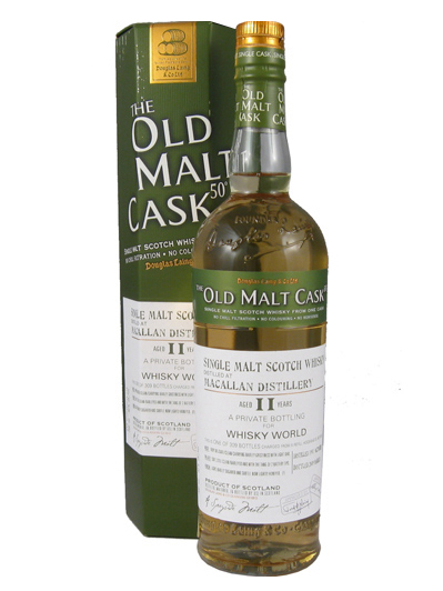 MACALLAN 11 YEAR 1997 - 2008 OLD MALT CASK  single malt