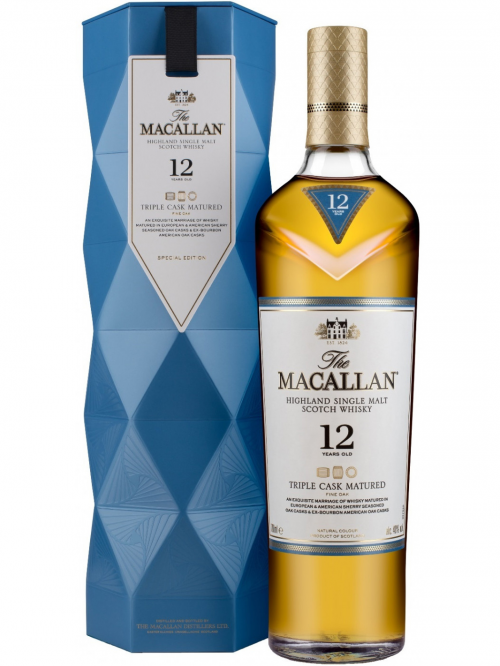 MACALLAN 12 YEARS TRIPLE CASK MATURED single malt