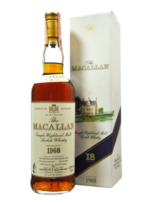 MACALLAN 18 YEAR OLD 1968 - 1988