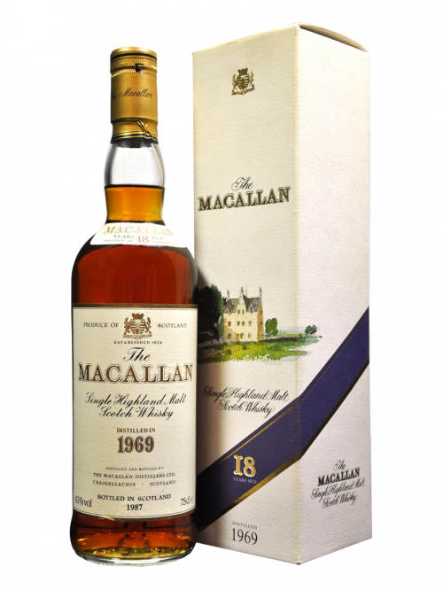 MACALLAN 18 YEAR OLD 1969 - 1987