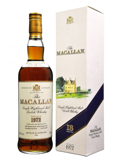 MACALLAN 18 YEAR OLD 1972 - 1990
