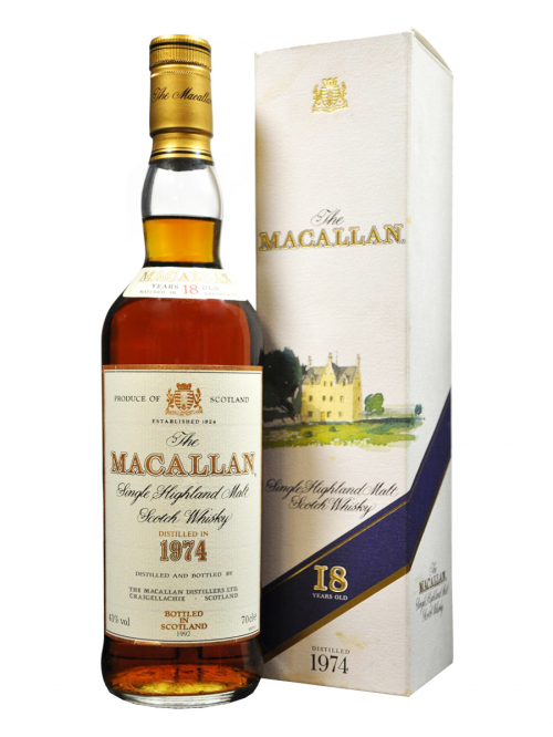 MACALLAN 18 YEAR OLD 1974 - 1992