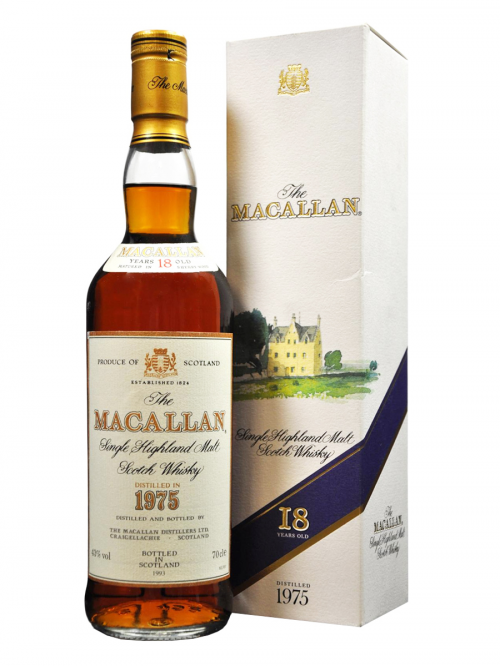MACALLAN 18 YEARS 1975-1993 single malt
