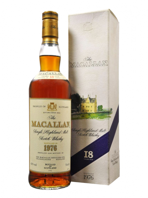 Macallan 18 Year Old 1976–1994