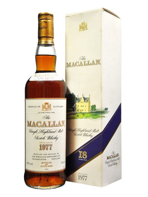 MACALLAN 18 YEAR OLD 1977 - 1995