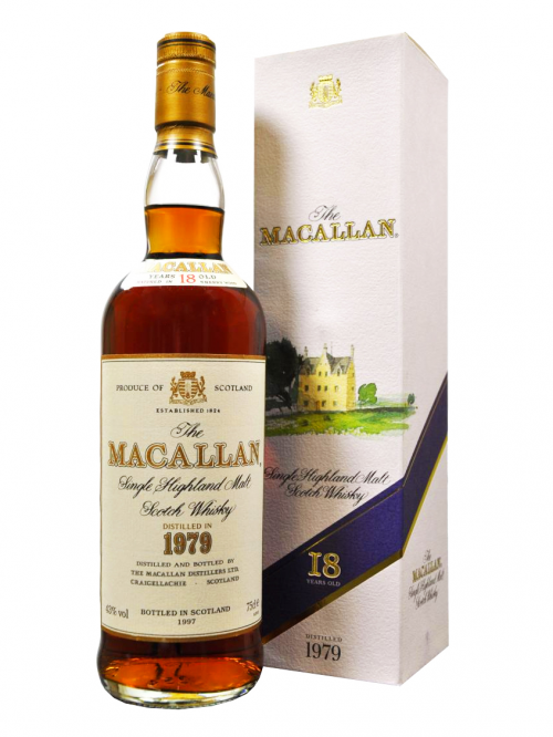 MACALLAN 18 YEAR OLD 1979 - 1997