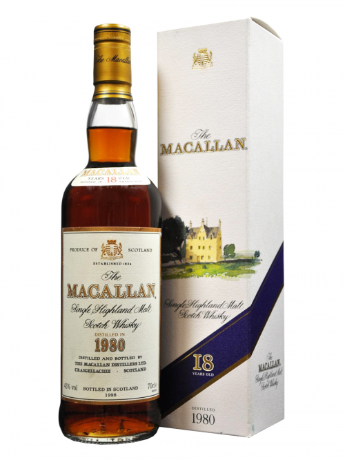 MACALLAN 18 YEAR OLD 1980 - 1998
