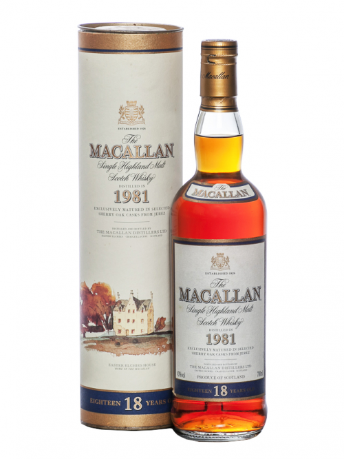 MACALLAN 18 YEARS 1981 single malt