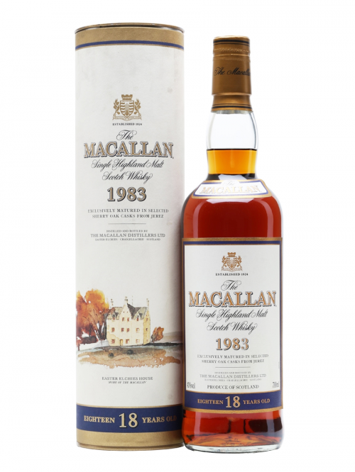 MACALLAN 25 YEARS 1948 & 1961 ROYAL MARRIAGE single malt