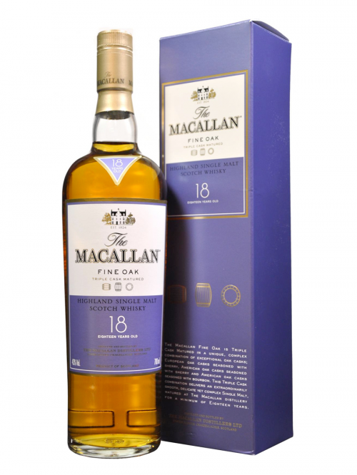 MACALLAN 18 YEARS FINE OAK single malt