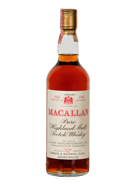 MACALLAN GLENLIVET 1936 GORDON & MACPHAIL single malt