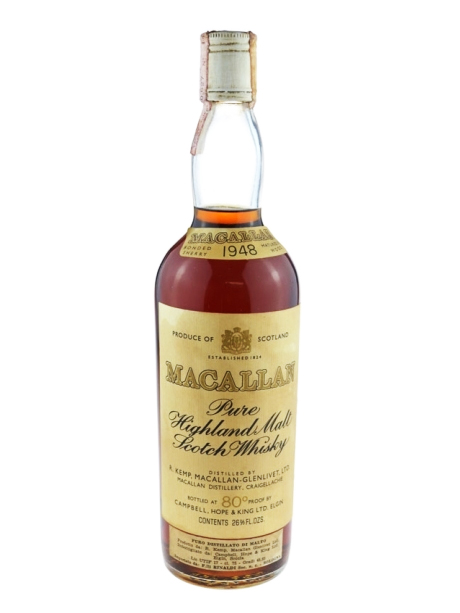 MACALLAN 1948 CAMPBELL HOPE & KING