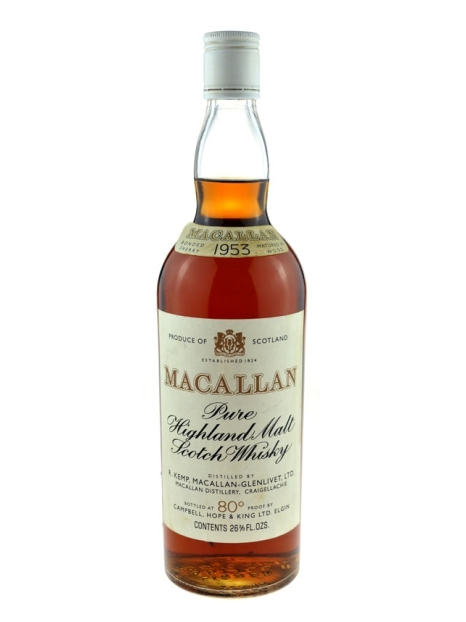 MACALLAN 1953 CAMPBELL HOPE & KING