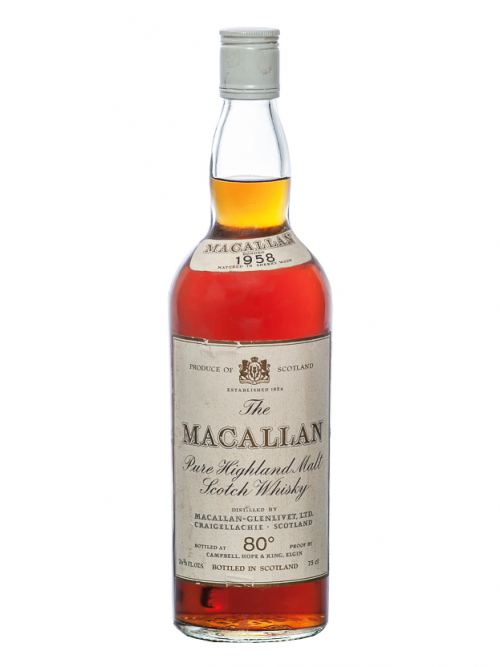 Macallan 1958 Pure Highland Malt Scotch Whisky