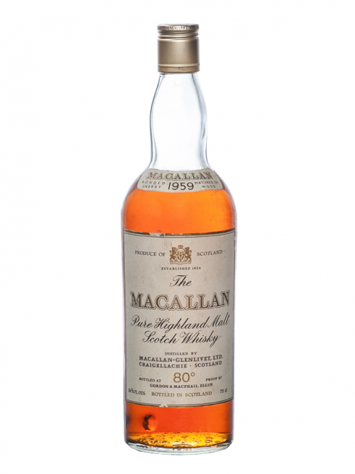 MACALLAN 25 YEAR OLD 1959 ANNIVERSARY MALT