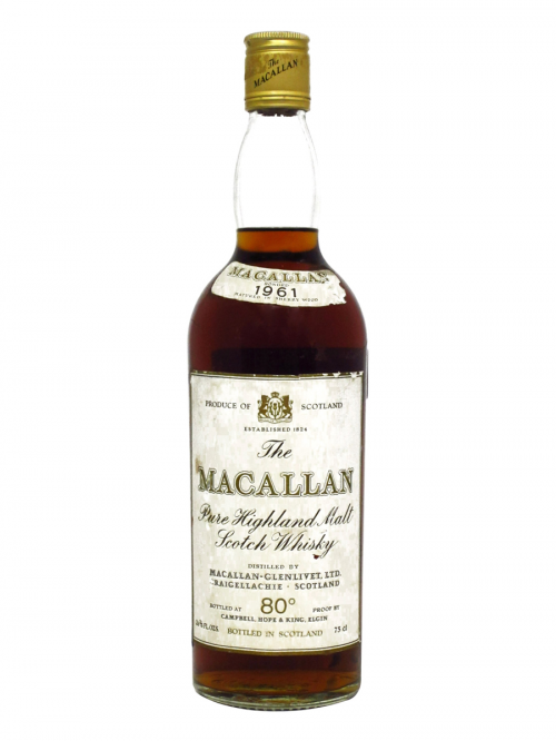 MACALLAN 1961 CAMPBELL HOPE & KING