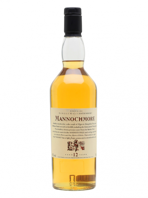 MANNOCHMORE 12 YEAR FLORA&FAUNA   SINGLE MALT