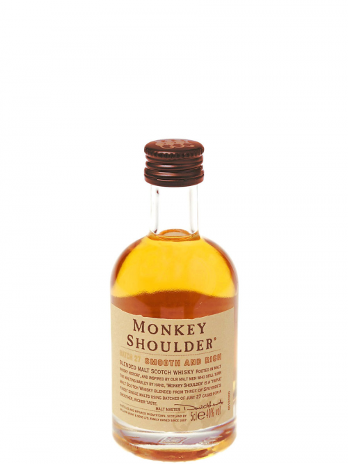 MONKEY SHOULDER SMOOTH AND RICH blended malt