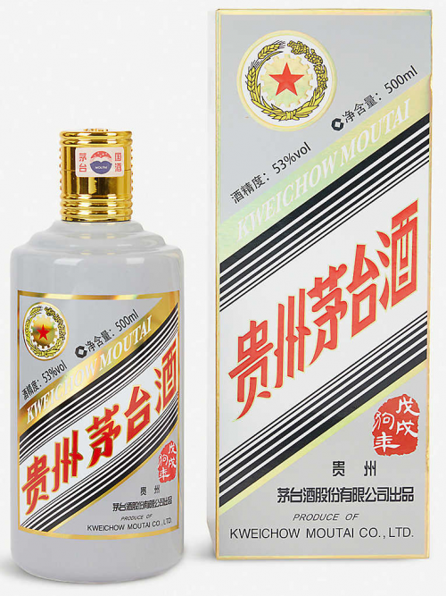 KWEICHOUW MOUTAI CHIEW THE YEAR OF DOG