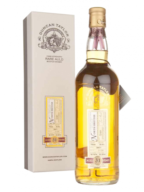 NORTH BRITISH 31 YEARS 1978-2010 RARE AULD single grain