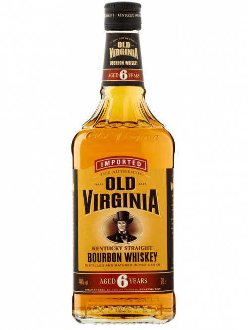 OLD VIRGINIA 6 YEARS bourbon