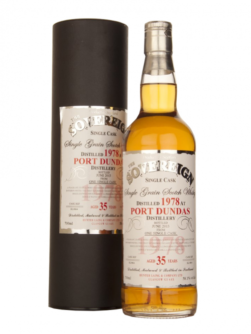 PORT DUNDAS 35 YEAR 1978 - 2013 SOVEREIGN  SINGLE GRAIN