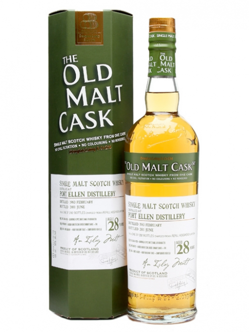 PORT ELLEN 28 YEARS 1983-2011 OMC single malt