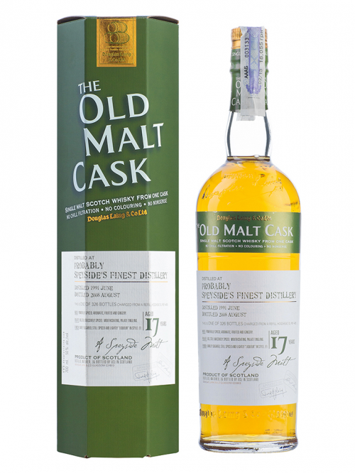 SPEYSIDE 17 YEAR 1991 - 2008 OLD MALT CASK  SINGLE MALT