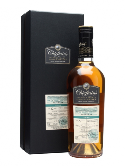 ROSEBANK 22 YEAR OLD 1990 - 2012 CHIEFTAIN'S LIMITED EDITION