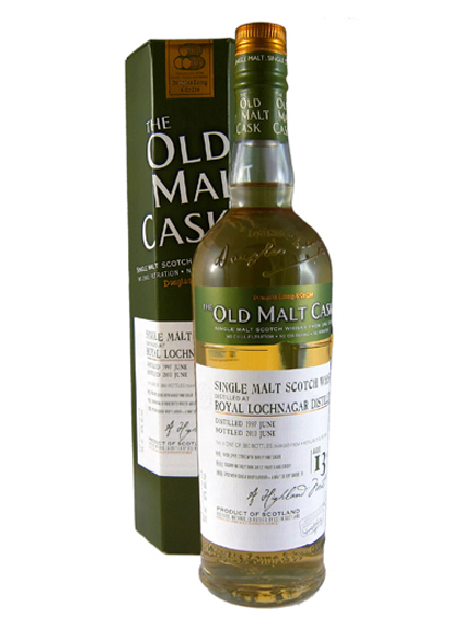 ROYAL LOCHNAGAR 13 YEAR  1997 OLD MALT CASK  SINGLE MALT
