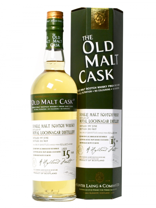 ROYAL LOCHNAGAR 15 YEAR 1997 OLD MALT CASK  SINGLE MALT