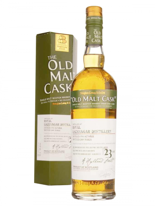 ROYAL LOCHNAGAR 23 YEAR 1984 - 2007 OLD MALT CASK  SINGLE MALT