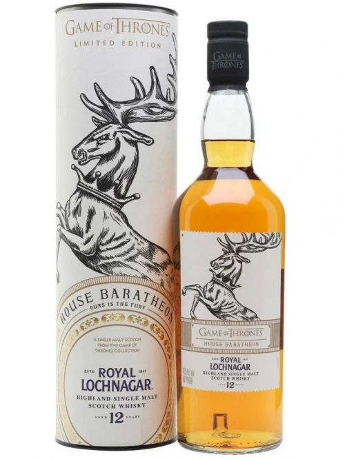 ROYAL LOCHNAGAR 12 YEARS GAME OF THRONES HOUSE BARATHEON single malt