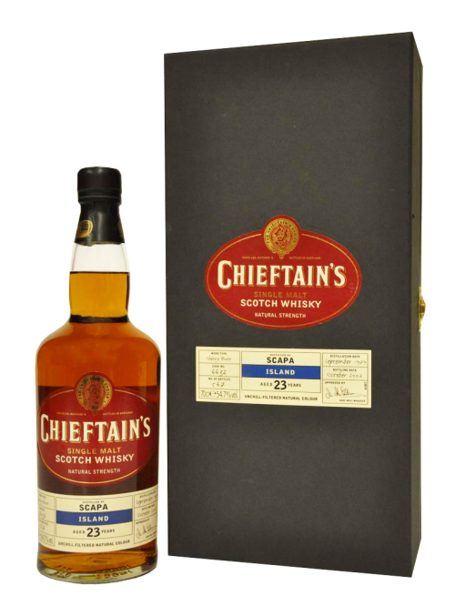 Scapa 23 Year Old 1979–2002 Chieftain's
