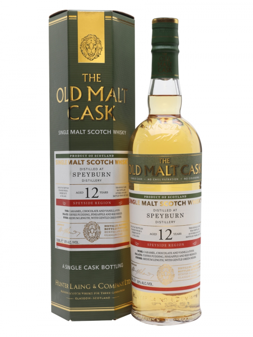 SPEYBURN 12 YEARS 2005-2018 OMC single malt