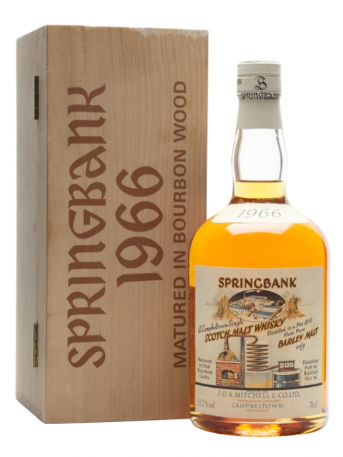 SPRINGBANK 31 YEAR OLD 1966 LOCAL BARLEY