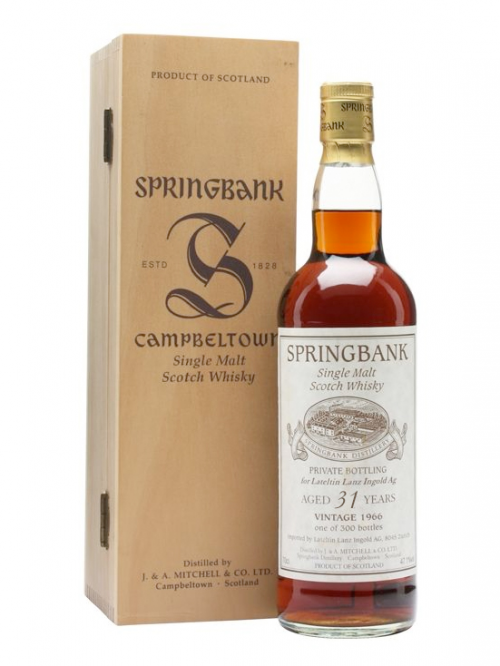 Springbank 31 Year Old 1965–1996
