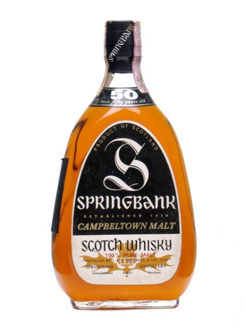 SPRINGBANK 50 YEARS single malt