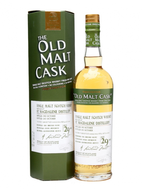 ST. MAGDALENE 29 YEAR 1982 - 2011 OLD MALT CASK  SINGLE MALT