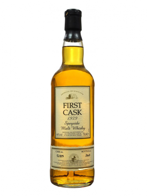 Strathisla 24 Year Old 1979 First Cask