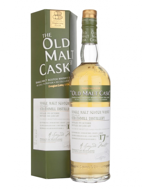 STRATHMILL 17 YEAR 1992 - 2009 OLD MALT CASK  SINGLE MALT