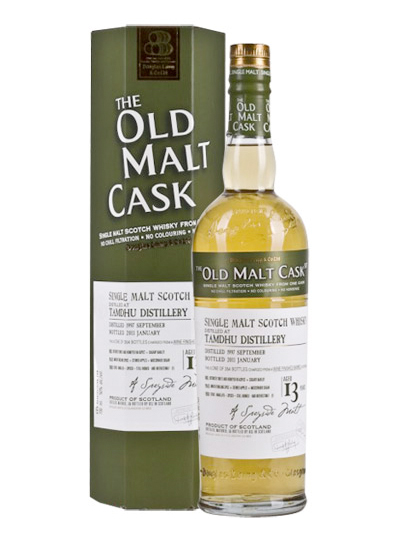 TAMDHU 13 YEAR 1997 - 2010 OLD MALT CASK  SINGLE MALT