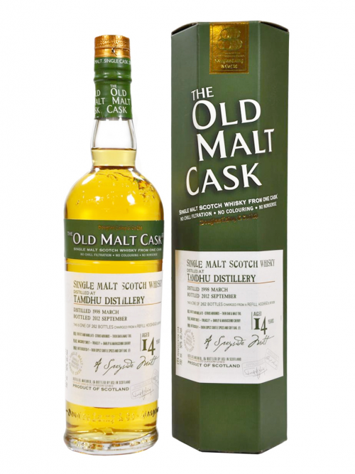 TAMDHU 14 YEAR 1998 - 2012 OLD MALT CASK  SINGLE MALT
