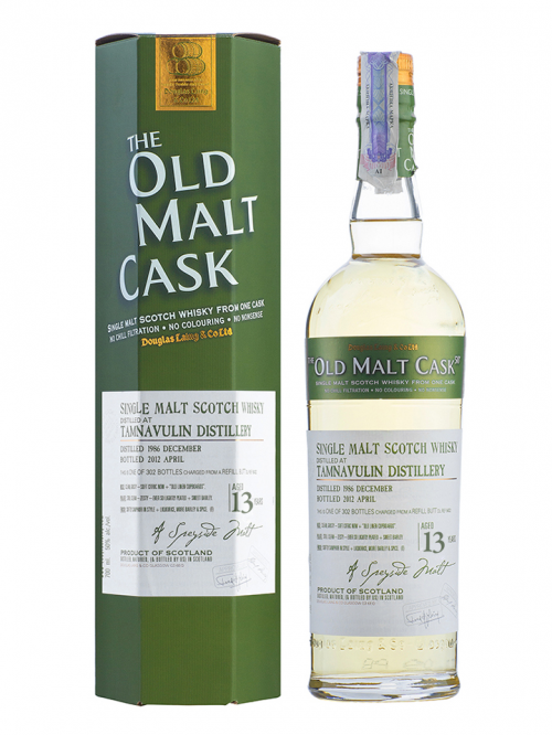TAMNAVULIN 13 YEAR 1990 OLD MALT CASK  SINGLE MALT