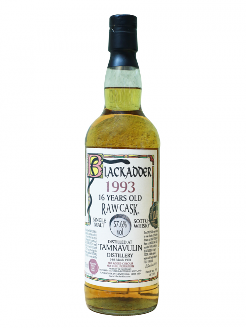TAMNAVULIN 16 YEAR 1993 - 2009 RAW CASK  SINGLE MALT