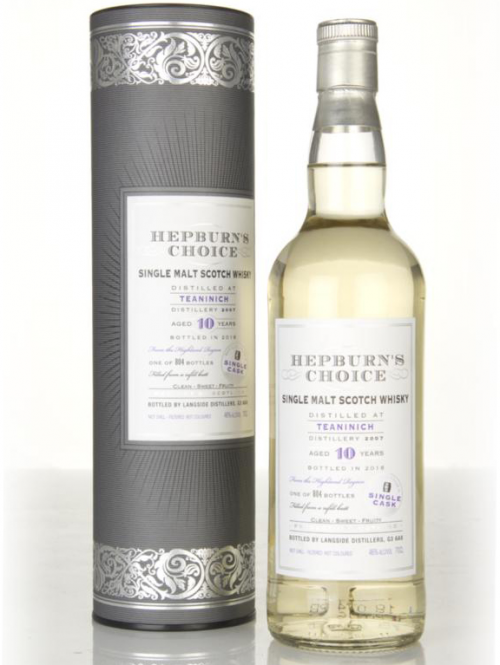 TEANINICH 10 YEARS HEPBURN'S CHOICE single malt