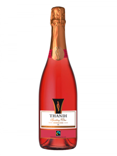 THANDI SPARKLING SHIRAZ RED WO  0,75 RED SEMISWEET