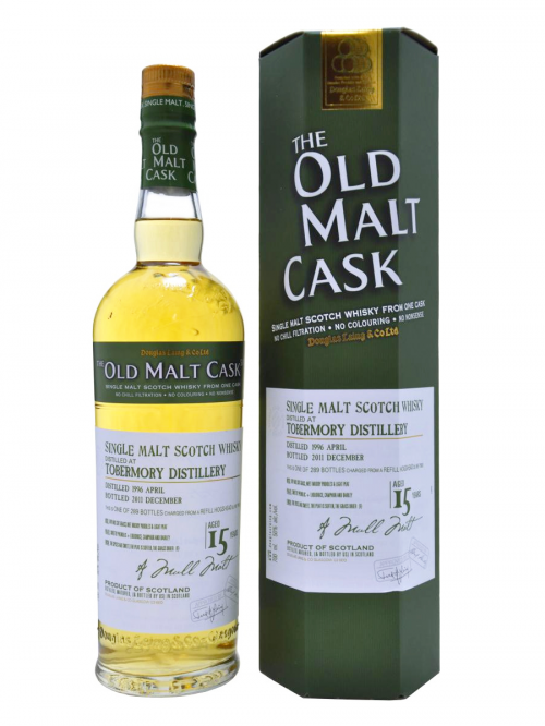 TOBERMORY 15 YEAR 1996 OLD MALT CASK  SINGLE MALT