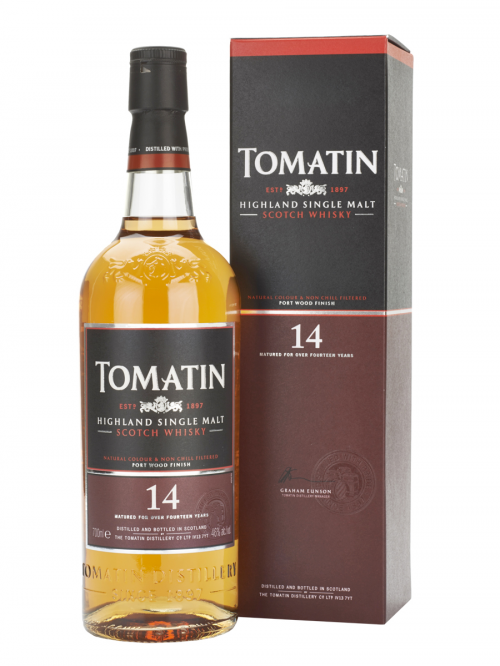 TOMATIN 14 YEAR  SINGLE MALT